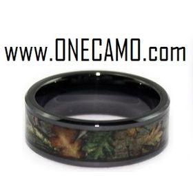 Camo Wedding Rings - www.ONECAMO.com