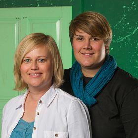 Katrin and Sandra