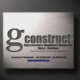 Gconstruct certified windows and Doors Athens
