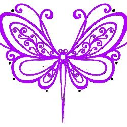 Violette Butterfly