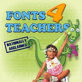 Fonts 4 Teachers