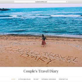 Couples Travel Diary