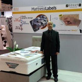 Mattress label dlabel
