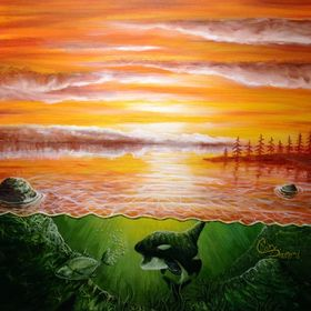 Cory Diamond Surf Art