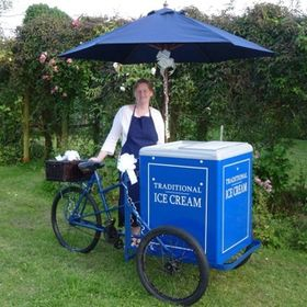 Traditional Ice Cream Tricycles