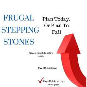 Frugal Stepping Stones