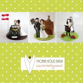 Tortenfiguren Hochzeit & mehr Yvonne Hölzl-Singh