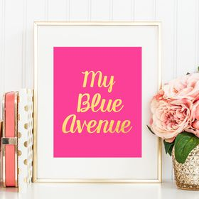 My Blue Avenue