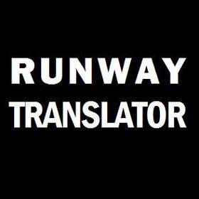 Runway Translator