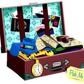 Janice Brady | An Open Suitcase
