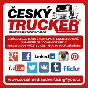 ČESKÝ - CZECH TRUCKER - digital advertising magazine