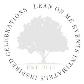 Lean On Me Events: Wedding planning and design for marriage centered couples