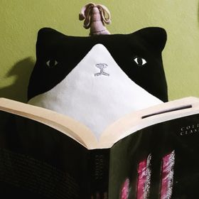 The Cat with a Book