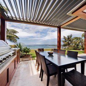 Vergola Opening Roof System - The Ultimate Pergola