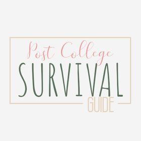 Jess | Post College Survival Guide | Health+Finances+Career