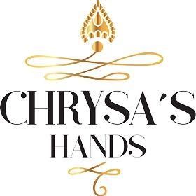 Chrysa's hands