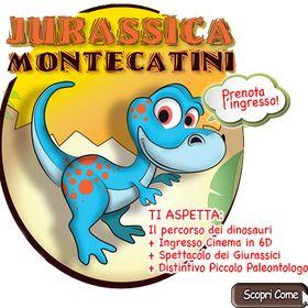 Jurassica Dinosauri Montecatini