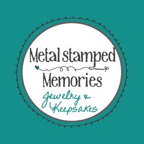 Metal Stamped Memories Jewelry & Keepakes