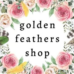 Golden Feathers - Handmade Dream Catchers