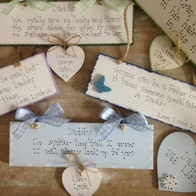 Bearcottage Crafts Personalised Handmade Gift