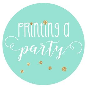 Printing a Party - Kits imprimibles para decorar fiestas
