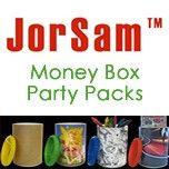 JorSam Money Box Party Packs