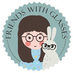 Friends with glasses