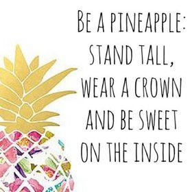 Chic Pineapple