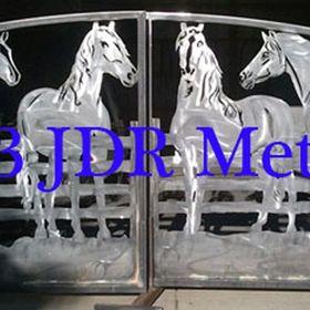 Driveway Gates by JDR Metal Art