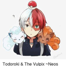 Shoto Todoroki Also Half And Half❄️🔥
