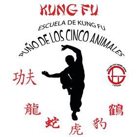 Escuela de kung fu puño de los cinco animales
