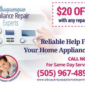 Albuquerque Appliance Repair Experts