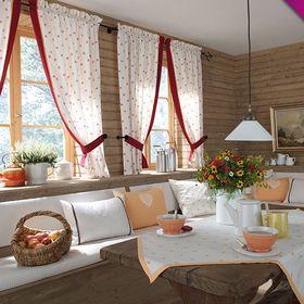 Stoffe für Wohnträume - Gardinen, Plissees, Vorhänge, Jalousien & mehr