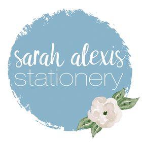 Sarah Alexis Stationery