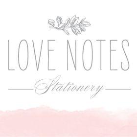 Love Notes Stationery - Wedding Invitations