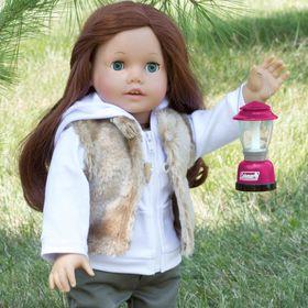"""Sophia/'s® 15/"""" Doll Fringe Suede Moccasins fits 15/"""" Dolls"""