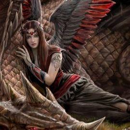 Drachen Wächterin