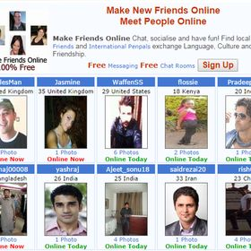 How to make friends online for free