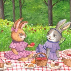 6197c6822 Bunnies Picnic (bunniespicnic) on Pinterest
