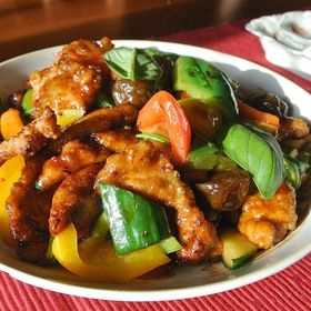 Chicken sauce Stir fry Recipe