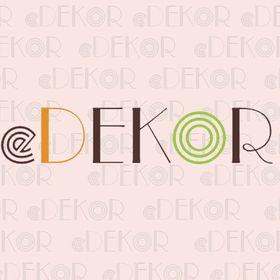 eDekor - inspirace na pinterestu dekorace