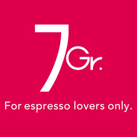 7Gr. For espresso lovers only.