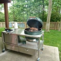 Outdoor Kitchen Equipment Egg Table (tspud1) on Pinterest