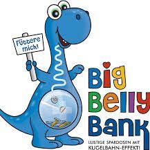 Big Belly Bank • Spardose • Spass • Geburtstag • Geld • Geschenk