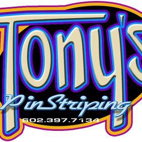 Tony pinstriping