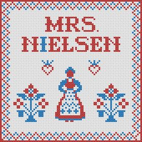 Mrs Nielsen Embroidery