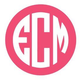 east coast monograms