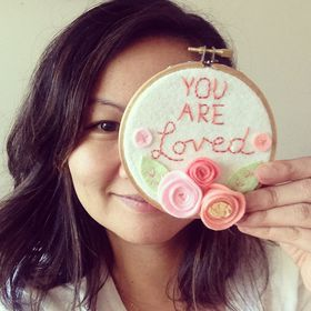 Cathy @ Catshy Crafts | Nursery Wall Art + Embroidery Hoop Art + Gifts for Moms