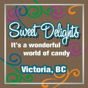 Sweet Delights Candy Store in Victoria, B.C.