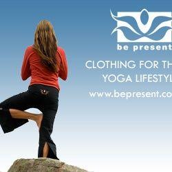 be present yoga clothing